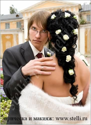 Фото пошагово свадебные прически