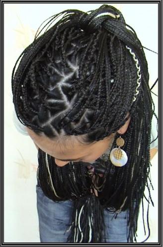 Техника плетение афрокосички