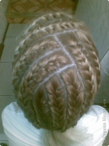 Плетение кос с пошаговой инструкцией 87