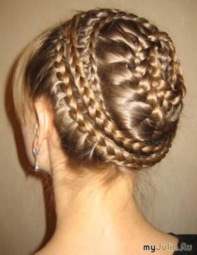 Виды плетения кос-видео