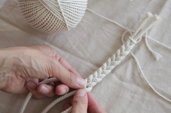 Плетение из веревок видео