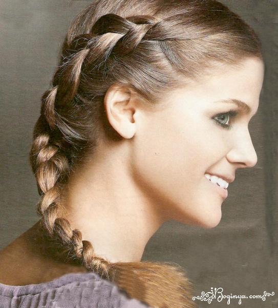 Картинки косичек на длинные волосы как плести пошаговая инструкция - 75e8