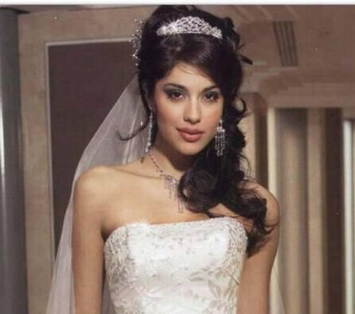 Прически свадебные