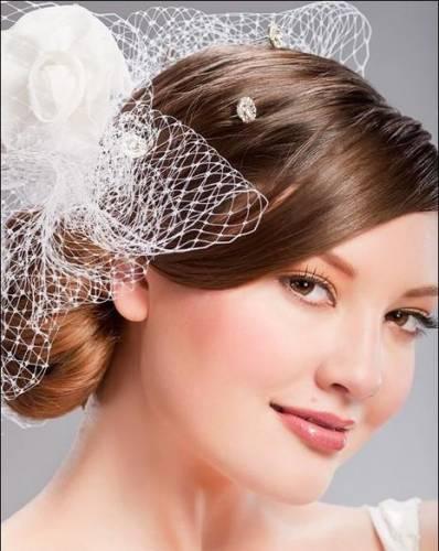 свадебные прически распущенные