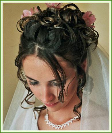 свадебные прически на средние волосы.в картинках и описаниях.скачать